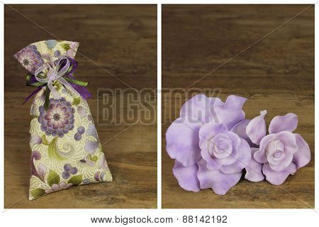 Roses And Aromatic Bag