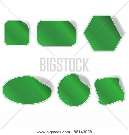Collection Green Stickers