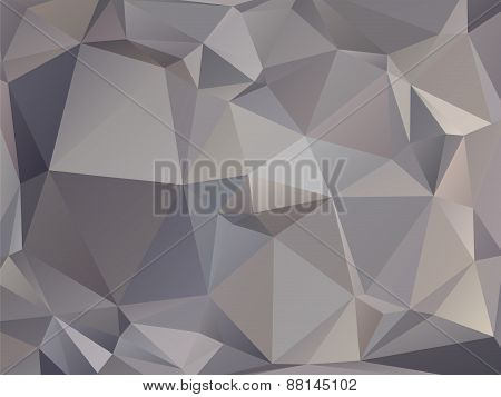 Abstract Triangular Graphite Gray Brown Background