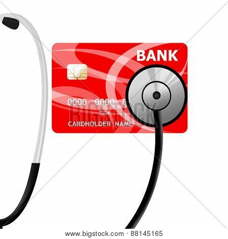 Financial Assistance Needed Concept Illustration Design Over White