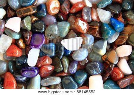Color Minerals Background