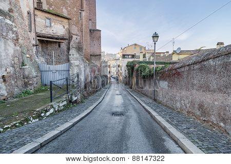 Via De' Ss Quattro - Rome (italy)