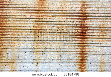 Texture Of A Concrete Wall With Rust