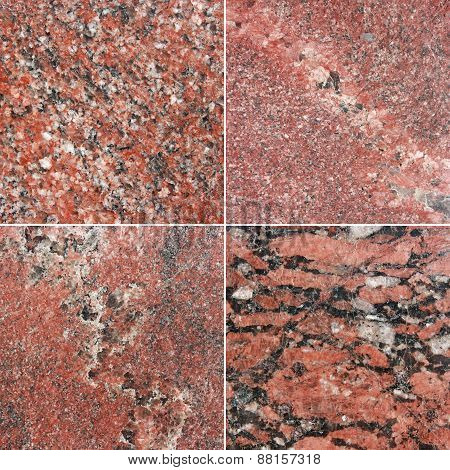 Marble and granite backgrounds with natural pattern.
