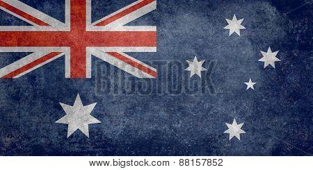 Flag of Australia, Retro style version