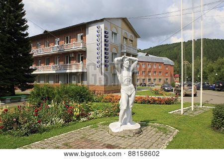 Sanatorium Centrosouz at the resort Belokuriha.