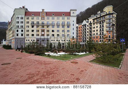 New Hotels in Rosa Khutor Alpine Resort