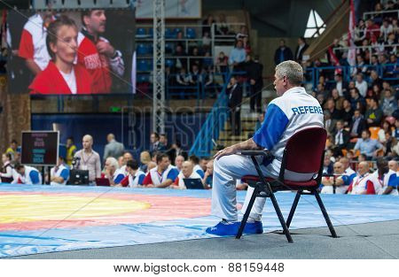 Referee On A Chair