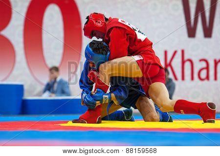 Kanzhanov B. (r) Vs Umbayev N. (b)