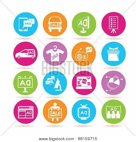 advertising icons