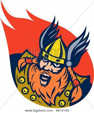 viking warrior or norse god