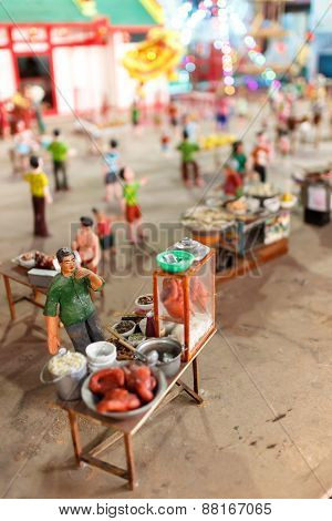 Market With Miniature