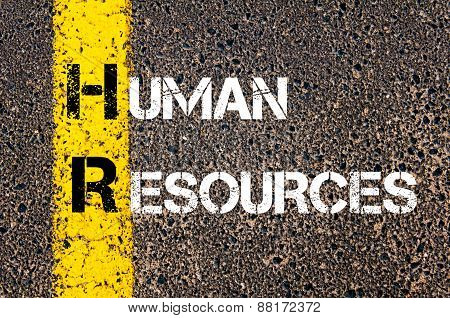 Business Acronym Hr - Human Resources