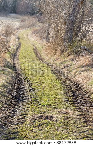 Country Lane, Tracks From Tractor