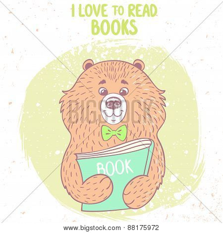 bear and book
