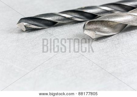 Macro Of Drill Bits