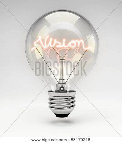 Concept Light Bulb - Vision