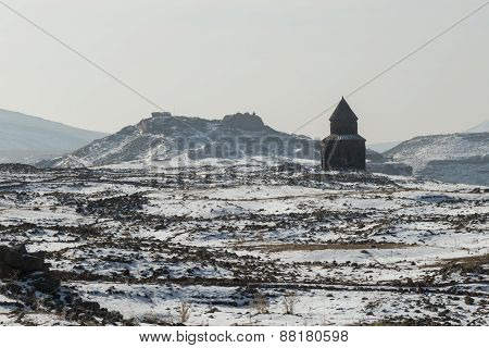 church and citadel, Ani, Turkey