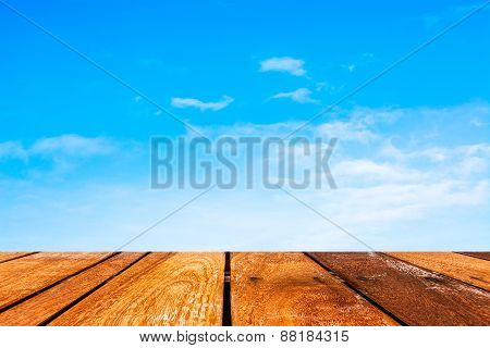 Elegant Clear Sky Background