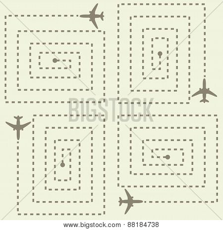 Simple Aircraft Pattern