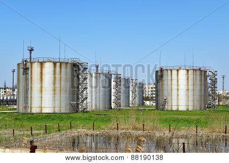 Large Old Tanks
