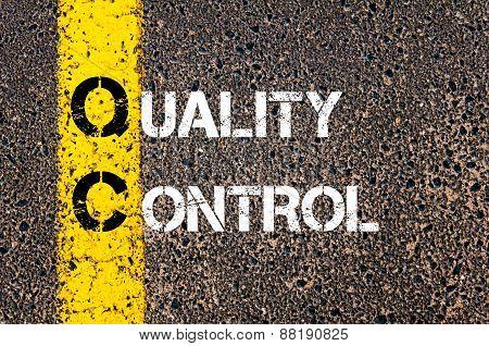 Business Acronym Qc - Quality Control