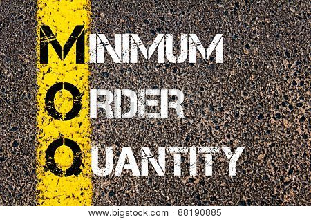 Business Acronym Moq - Minimum Order Quantity