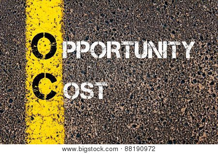 Business Acronym Oc -  Opportunity Cost