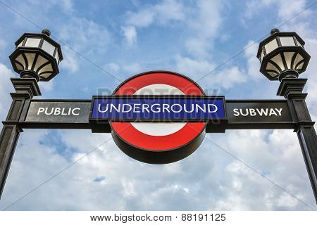 Underground Sign In The Sky