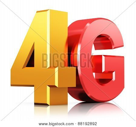 4G LTE wireless technology logo