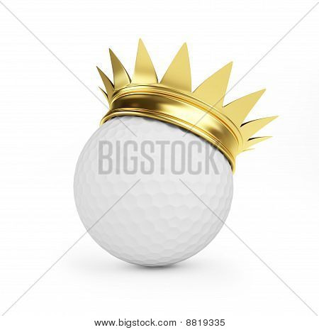 Golf Gold Crown