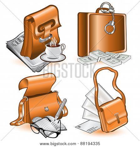 Web Icon Bag