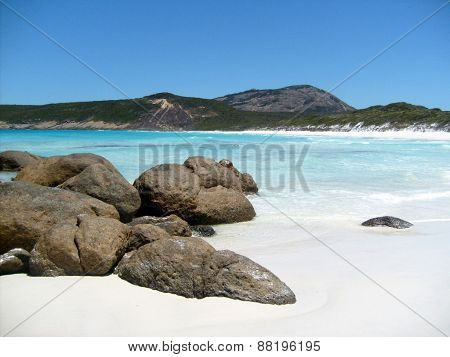 White sand beach Australia