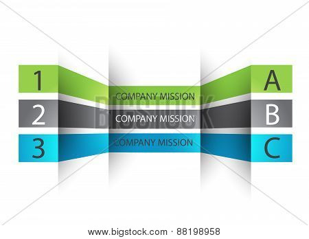 Can be used for work layout, banner, diagram, web design, infographic