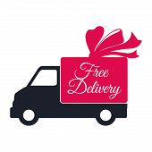 picture of designated driver  - Delivery design over white background - JPG