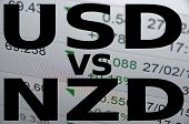 foto of nzd  - US dollar versus New Zealand dollar  - JPG