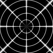 foto of sniper  - Sniper white cross hair or target on the black background - JPG