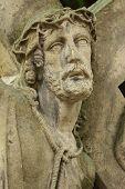 stock photo of passion christ  - Jesus Christ bearing the cross  - JPG