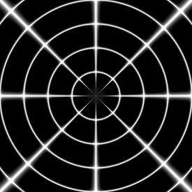 picture of sniper  - Sniper white cross hair or target on the black background - JPG