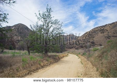Dirt Trails In Southern California