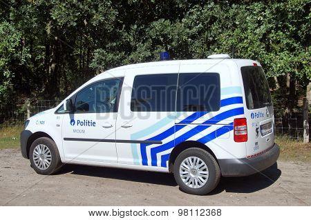 Belgian Police Car K-9 unit / Belgische politie auto hondengeleider