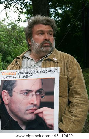 Journalist Alexander Ryklin To Protest In Support Of Khodorkovsky