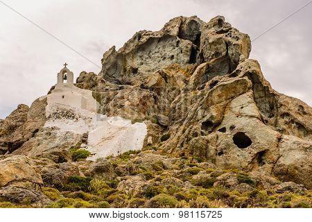 Traditional Greek chapel