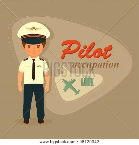 pilot, airplane