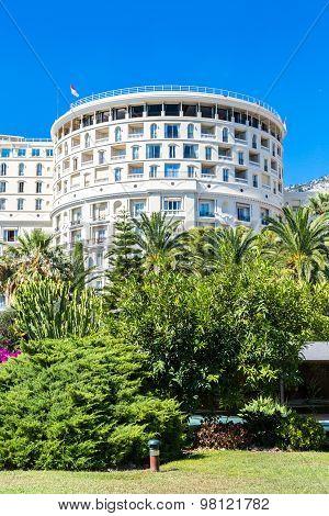 Hotel De Paris In Monte Carlo In Monaco