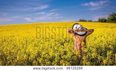 Woman On A Field Of Rape