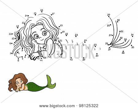 Numbers Vector Game (mermaid)