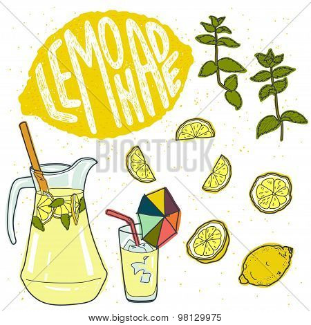 Lemonade And It's Ingredients