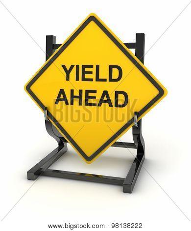 Road Sign - Yield Ahead