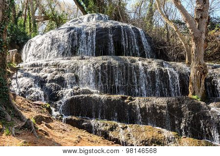 Waterfall in the Natural Park
